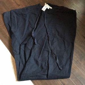 Max Studio linen wide leg pants